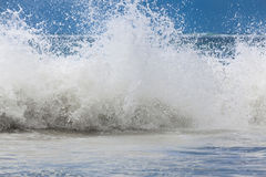Free Large Ocean Waves With White Foam. The Raging Ocean Storm. Stock Photography - 82004422