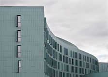Large office building. Rooms and windows Stock Images