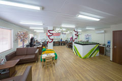 Large office with sofas for relaxation Stock Photography