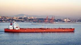 Large oil tanker Stock Photo