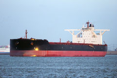 Large oil tanker stock images