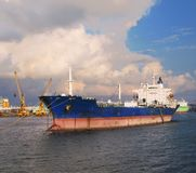 Large Oiltanker Stock Photography