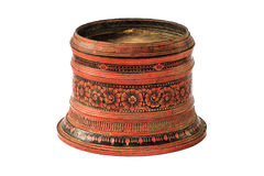 Large old antique lacquer wares Stock Photos