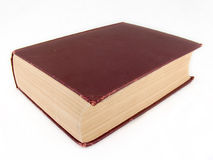 Large old book Royalty Free Stock Image