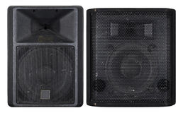 Large old concert loudspeakers royalty free stock photo