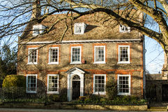 Large, old English house Royalty Free Stock Photography