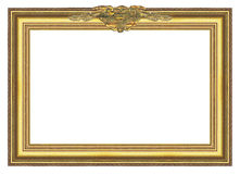 Large Old Gold Frame 004 stock images