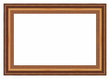 Large Old Gold Frame 005 Stock Photo