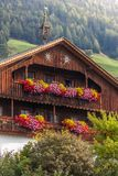 Large, old mountain farm in South Tyrol Royalty Free Stock Photos