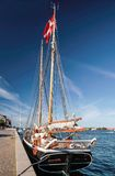 Large, old sailing ship Royalty Free Stock Photography