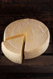 Large Organic White Cheese Wheel Stock Photos