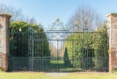 Large Ornate Gates Royalty Free Stock Photo