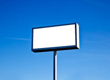 Large outdoor billboard Royalty Free Stock Image