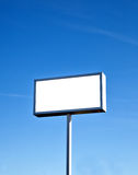 Large outdoor billboard Royalty Free Stock Photos