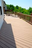 Large Outdoor Deck Royalty Free Stock Photography