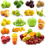Large page of fruits Royalty Free Stock Image