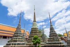 large pagoda of Wat Pho Royalty Free Stock Images