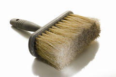 Large paint brush or wallpapering brush Royalty Free Stock Photography