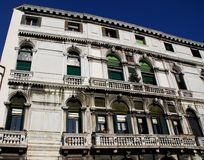A large palace in Venice in Italy Royalty Free Stock Photos
