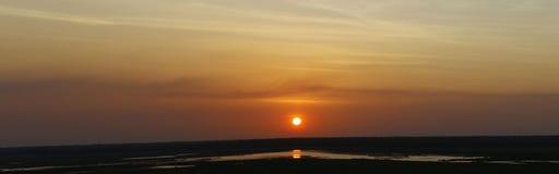 Large panorama of an Australian coastal landscape - Broome Stock Photo