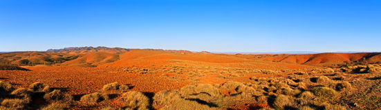 Large panorama of Australian Flinders ranges Stock Image