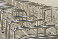 Large parking for bicycles Stock Image