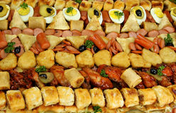 Large Party Platter Close Up Royalty Free Stock Image