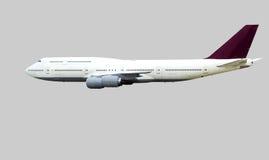Large passenger aircraft isolated. Stock Image