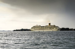 Large passenger cruise ship Stock Photo