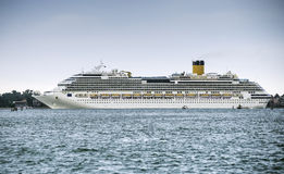 Large passenger cruise ship Royalty Free Stock Photography