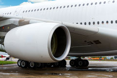 Large passenger jet Royalty Free Stock Image