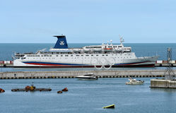 Large passenger liner Stock Image