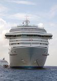 Large passenger ship Stock Images