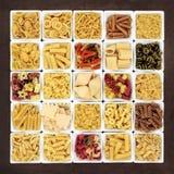 Large Pasta Sampler Royalty Free Stock Photo