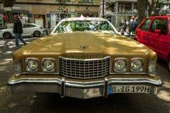 Large personal luxury coupe Ford Thunderbird sixth generation, 1973. Royalty Free Stock Image
