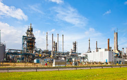 Petroleum refinery Stock Photos