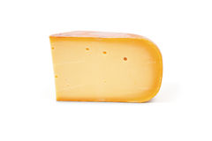 Large piece of cheese Stock Photos