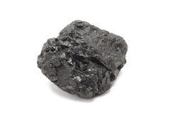 A large piece of coal Royalty Free Stock Photos