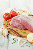 Large piece of meat Stock Images