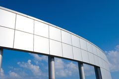 A large piece of metal architecture Royalty Free Stock Image