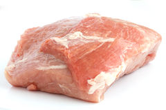 Large piece of raw meat Stock Photos