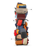 Large pile of bags Stock Image