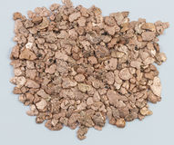 Large Pile of Copper Pieces stock images