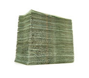 Large pile of money Royalty Free Stock Image