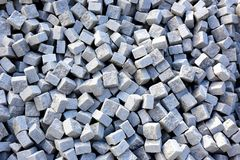 Large pile of pavers Royalty Free Stock Images