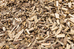 Large pile of split firewood Stock Photos