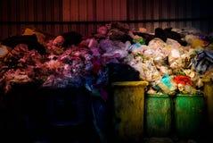 Large piles of garbage royalty free stock image
