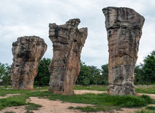 Large pillar sandstone Royalty Free Stock Photo