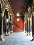 Large pillars royalty free stock photo