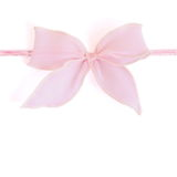 Large pink bow stock images